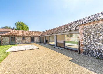 Thumbnail 3 bedroom barn conversion for sale in Grove Farm Barns, Roughton Road, Felbrigg, Norwich