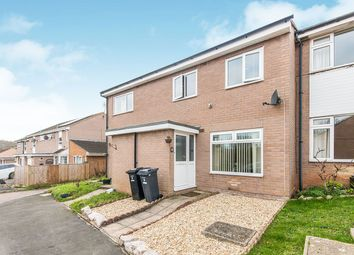 Thumbnail 3 bed terraced house for sale in Woodfield Close, Exmouth