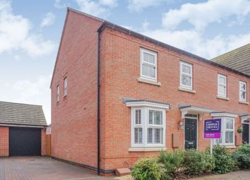 Thumbnail 3 bed end terrace house for sale in Tamworth Close, Grantham