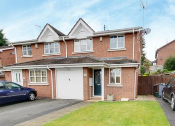 Thumbnail 3 bed semi-detached house for sale in High Hazles Close, Gedling, Nottingham