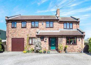 Thumbnail 5 bed detached house for sale in Main Street, Gowdall, Goole