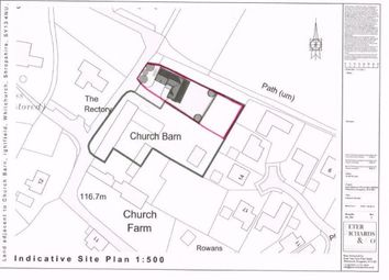 Thumbnail Land for sale in Ightfield, Whitchurch
