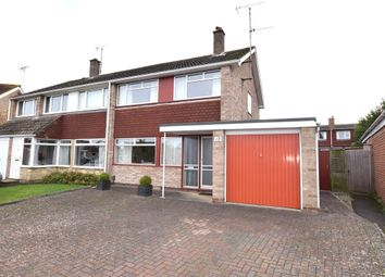 Thumbnail 3 bed semi-detached house for sale in Wimborne Close, Up Hatherley, Cheltenham, Gloucestershire