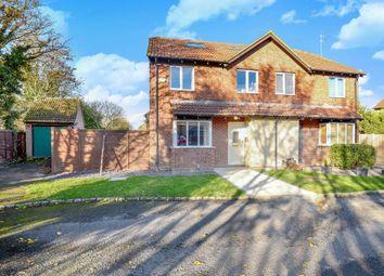 Thumbnail 5 bed semi-detached house for sale in Quarrington Close, Thatcham