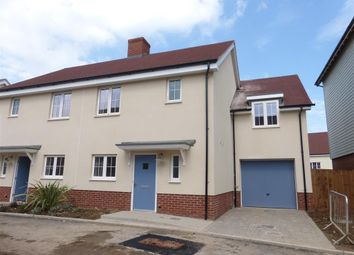 Thumbnail 3 bed semi-detached house to rent in Jackson Bacon View, Beaulieu Heath, Chelmsford