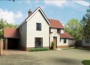 Thumbnail 4 bed detached house for sale in Church Road, Cratfield, Halesworth