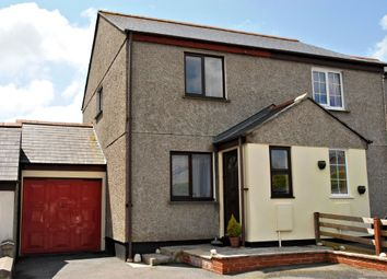Thumbnail 2 bed semi-detached house for sale in Henscol, Lanner, Redruth