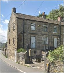 Thumbnail 2 bed end terrace house to rent in Lowergate, Paddock, Huddersfield
