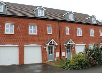 Thumbnail 3 bedroom town house for sale in Bridgewater Road, Burton-On-Trent