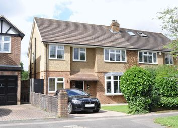 Thumbnail 3 bed semi-detached house for sale in Overdale, Ashtead