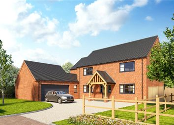 Thumbnail 4 bed detached house for sale in Hall Lane, Moulton Seas End, Spalding