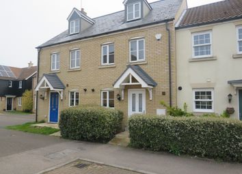 Thumbnail 3 bedroom town house for sale in George Alcock Way, Farcet, Peterborough