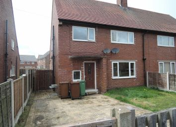Thumbnail 2 bed maisonette to rent in Rose Avenue, Pontefract, Upton
