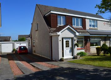 Thumbnail 3 bed semi-detached house for sale in Lewis Avenue., Wishaw