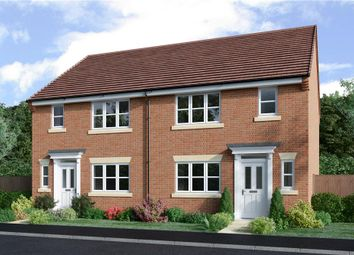 "Thumbnail 3 bed semi-detached house for sale in ""Malvern"" at Spire View, Bottesford, Nottingham"