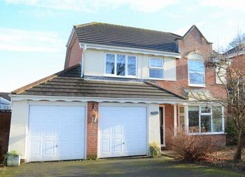 Thumbnail 4 bed detached house for sale in Hanover Gardens, Cullompton