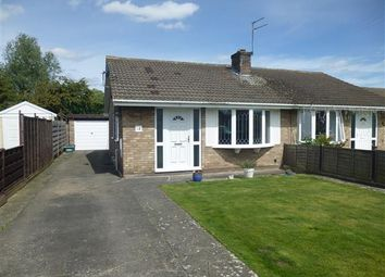 Thumbnail 2 bed semi-detached bungalow for sale in Ryecroft Close, York