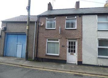 Thumbnail 2 bed terraced house for sale in New Row, Pwllheli, Gwynedd