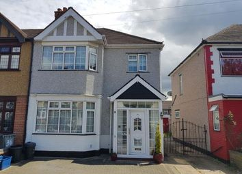 Thumbnail 4 bedroom semi-detached house to rent in Brockham Drive, Gants Hill, Ilford, Essex