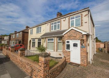 Thumbnail 3 bed semi-detached house for sale in Kingsway Avenue, Teesville, Middlesbrough