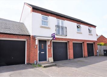 Thumbnail 2 bed flat for sale in Headstock Close, Coalville