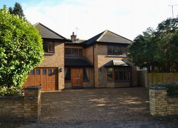 Thumbnail 5 bed detached house to rent in Ecton Lane, Sywell, Northampton