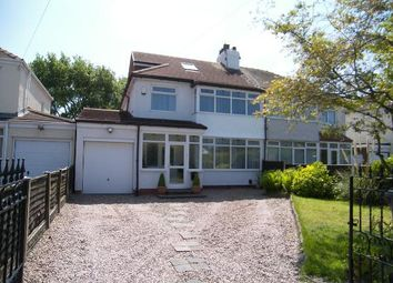 Thumbnail 4 bed semi-detached house for sale in Southport Road, Freshfield, Liverpool