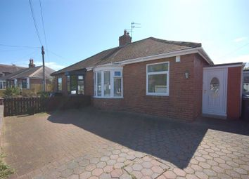 Thumbnail 2 bed semi-detached bungalow for sale in Charles Avenue, Forest Hall, Newcastle Upon Tyne