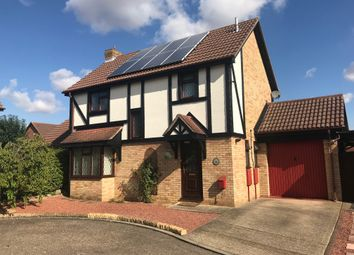 Thumbnail 4 bed detached house for sale in Campbell Drive, Peterborough
