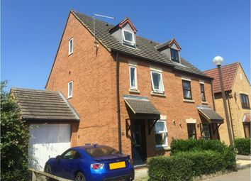 Thumbnail 3 bedroom semi-detached house to rent in Abbeydore Grove, Monkston, Milton Keynes