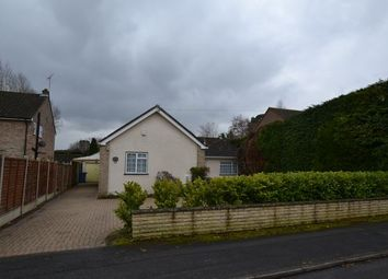 Thumbnail 3 bed detached bungalow for sale in Wood Lane, Fleet