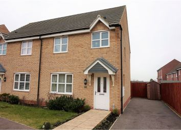 Thumbnail 3 bed semi-detached house for sale in Bishops Gate, Lincoln
