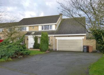 Thumbnail 4 bed detached house to rent in Windsor Road, Waltham On The Wolds, Melton Mowbray