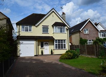 Thumbnail 4 bed detached house for sale in Crabtree Road, Camberley, Surrey