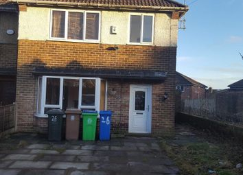 Thumbnail 3 bed semi-detached house to rent in Ashbrook Crescent, Rochdale, Lancashire
