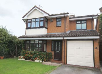 Thumbnail 4 bed detached house for sale in Cooke Close, Penkridge, Stafford