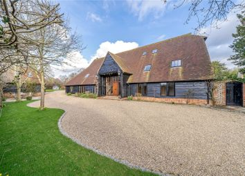 Thumbnail 5 bed detached house for sale in Halls Lane, Waltham St. Lawrence, Reading, Berkshire