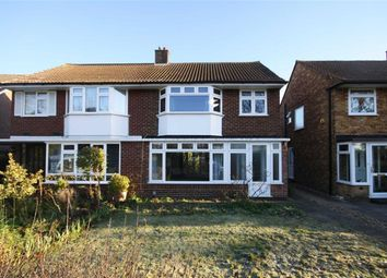 Thumbnail 3 bed semi-detached house to rent in Buckingham Road, Hampton