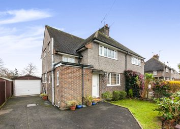 Thumbnail 3 bed semi-detached house for sale in Meath Green Avenue, Horley