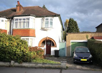 Thumbnail 4 bed semi-detached house for sale in Wickham Avenue, Shirley