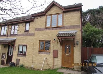 Thumbnail 2 bed end terrace house to rent in Rowans Lane, Bryncethin, Bridgend