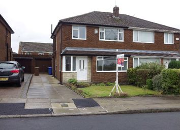 Thumbnail 3 bed semi-detached house to rent in Greenvale, Bamford, Greater Manchester
