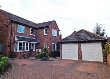 Thumbnail 4 bed detached house for sale in Honeysuckle Close, North Walsham