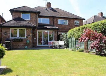 Thumbnail 4 bed semi-detached house for sale in Bond Street, Englefield Green, Egham