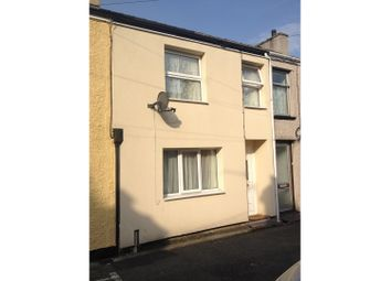 Thumbnail 2 bed terraced house to rent in Water Street, Caernarfon