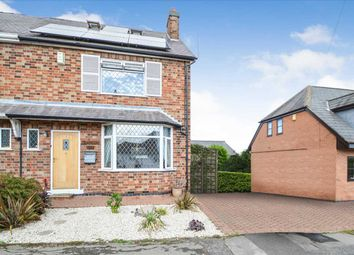 Thumbnail 4 bed semi-detached house for sale in Rose Grove, Keyworth, Nottingham