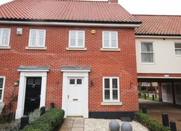 Thumbnail 3 bedroom semi-detached house for sale in Indigo Yard, Norwich, Norfolk