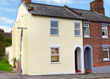 Thumbnail 3 bed end terrace house for sale in Boundary Road, Newbury
