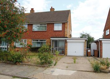 Thumbnail 3 bed semi-detached house for sale in Melplash Road, Ipswich