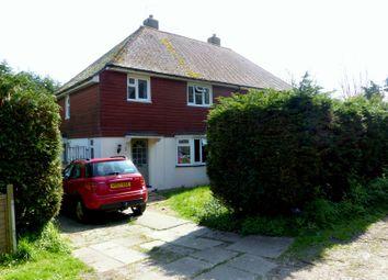 Thumbnail 3 bed semi-detached house to rent in Church Close, Bognor Regis